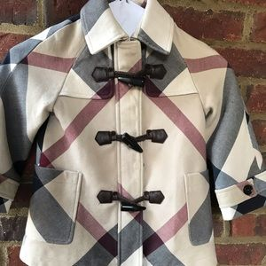 Burberry Girls Coat Size 4